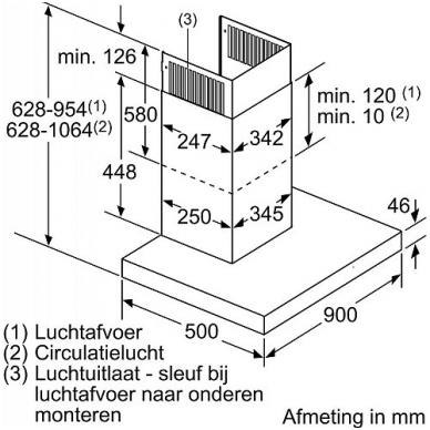 Gartraukiai Siemens LC97BCP50 5