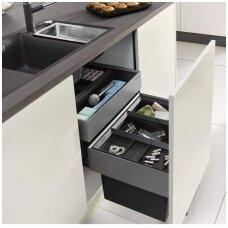 Atliekų rūšiavimo sistema Blanco SELECT ORGA 60/4