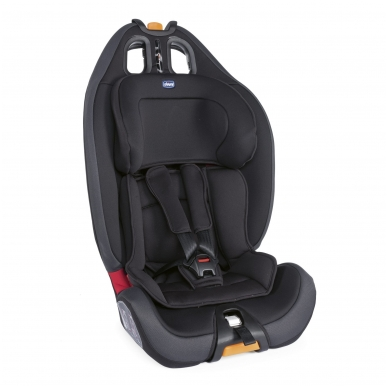 Automobilinė kėdutė Chicco Gro-Up 123 Jet Black