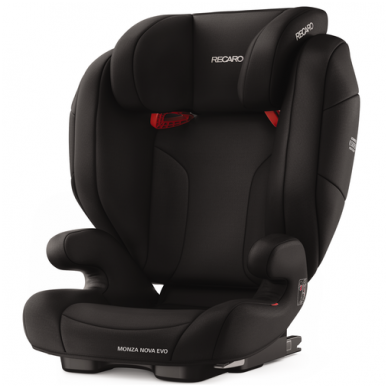 Automobilinė kėdutė RECARO Monza Nova Evo Seatfix Performance Black