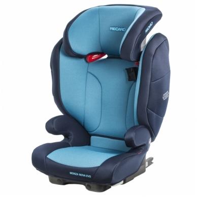 Automobilinė kėdutė RECARO Monza Nova Evo Seatfix Xenon Blue