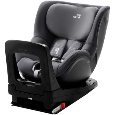 Automobilinė kėdutė BRITAX DUALFIX M i-SIZE Storm grey