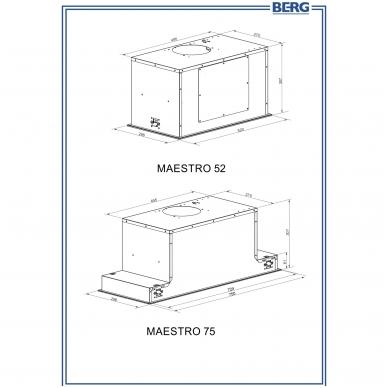 Gartraukiai Berg Maestro BK 75 4