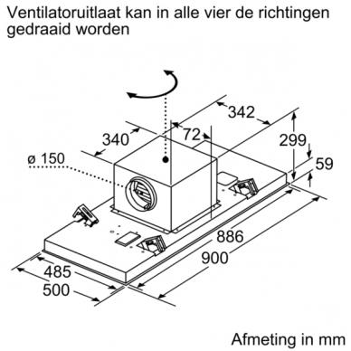Gartraukiai Bosch DRC97AQ50 5
