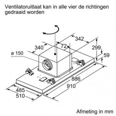Gartraukiai Bosch DRC99PS20 5