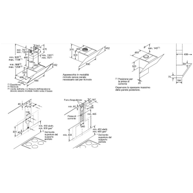 Gartraukiai Bosch DWK97JM60 5