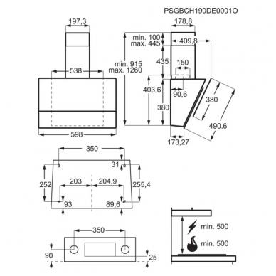 Gartraukiai Electrolux LFV616K 3