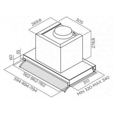 Gartraukiai Elica BOX IN PLUS IXGL/A/60 5