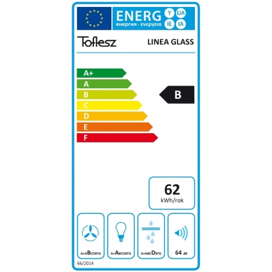 Gartraukis Toflesz Linea Glass LED White 4