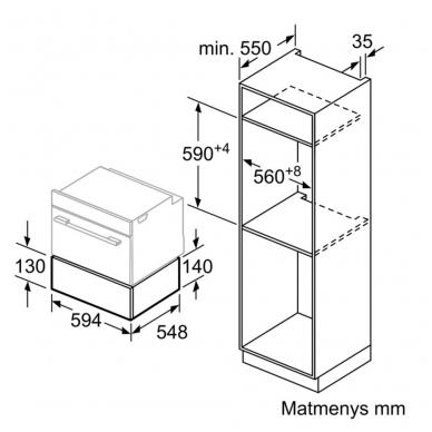 Įrankių stalčius Bosch BIC830NC0 3