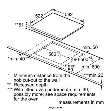 Kaitlentė Bosch PVQ651FC5E 3
