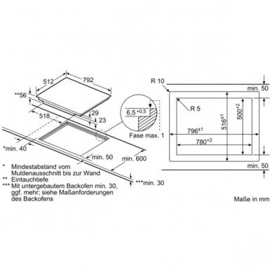 Kaitlentė Bosch PXY801KW1E 2