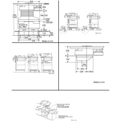 Kaitlentė Siemens EX875LX34E 5