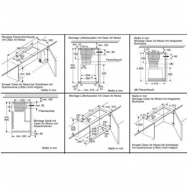 Komplektas recirkuliacijai Bosch DWZ1IX1C6 2