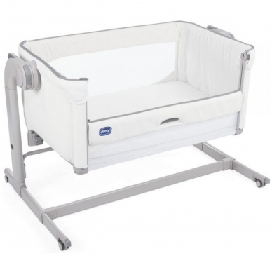 Lovytė Chicco Next2Me Magic White Snow