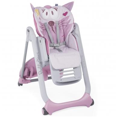 Maitinimo kėdutės Chicco Polly 2 Start Miss Pink