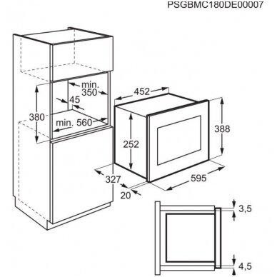 Mikrobangų krosnelės Electrolux LMS2203EMK 3