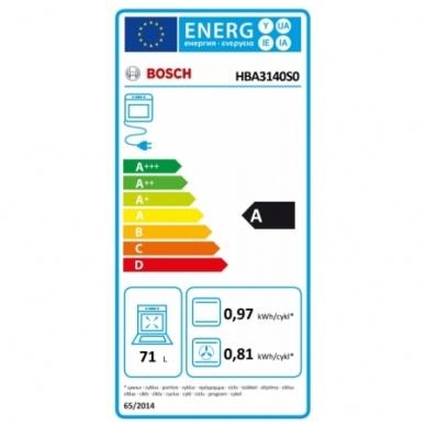 Orkaitė Bosch HBA3140S0 3