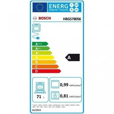 Orkaitė Bosch HBG5780S6 4