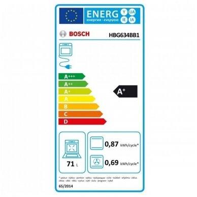 Orkaitė Bosch HBG634BB1 4