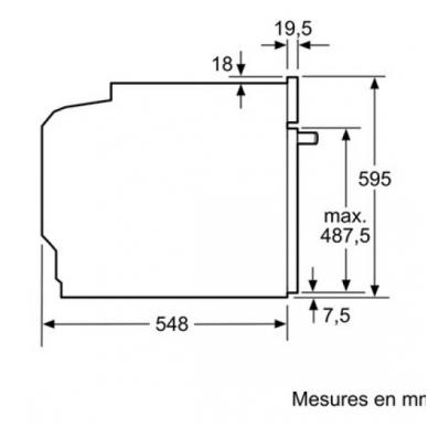 Orkaitė Bosch HBG634BS1 3