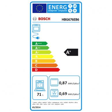 Orkaitė Bosch HBG676EB6