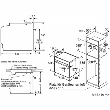 Orkaitė Bosch HMG8764C6 3