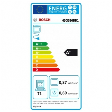 Orkaitė Bosch HSG636BB1 4