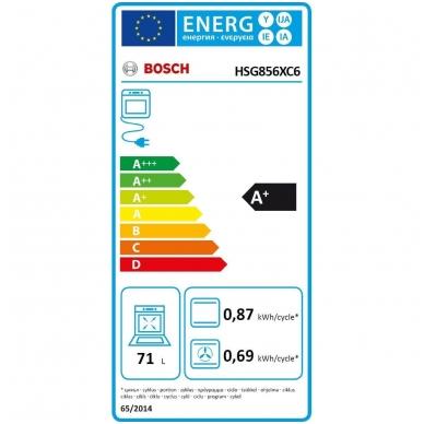 Orkaitė Bosch HSG856XC6 3