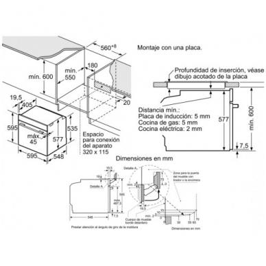 Orkaitė Bosch HSG856XC6 4