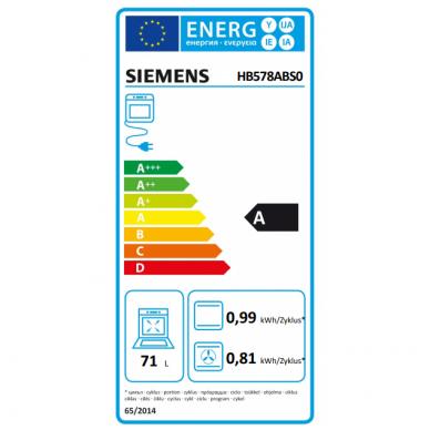 Orkaitė Siemens HB578ABS0 3