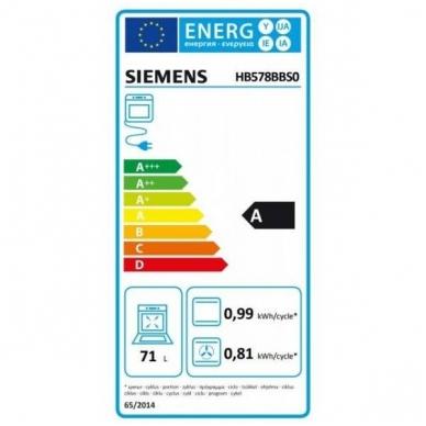 Orkaitė Siemens HB578BBS0 3