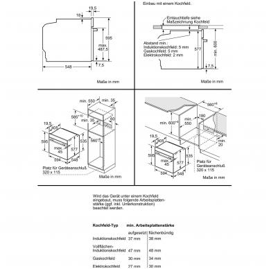 Orkaitė Siemens HB674GBW1 3