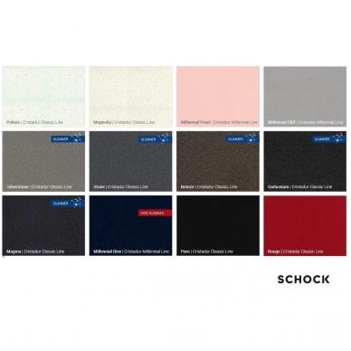 Plautuvių Schock Cristadur® spalvos 2