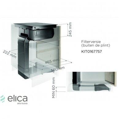 Priedas recirkuliacijai Elica KIT0167757 2