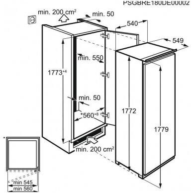 Šaldikliai Electrolux LUT6NF18S 3