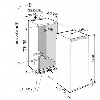 Šaldytuvai Liebherr IRBd 5150 4