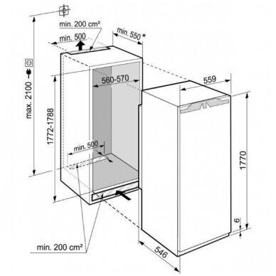 Šaldytuvai Liebherr IRBe 5120 4
