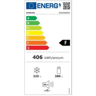 Šaldytuvai Samsung RS6HA8880B1 3