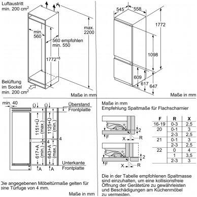 Šaldytuvas Bosch KIF87PFE0 3