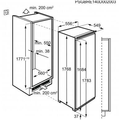 Šaldytuvas Electrolux LRB3DE18C 3