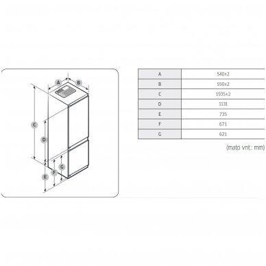 Šaldytuvas Samsung BRB30715DWW 3