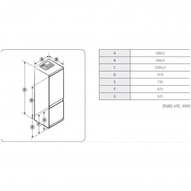 Šaldytuvas Samsung BRB30715EWW 4
