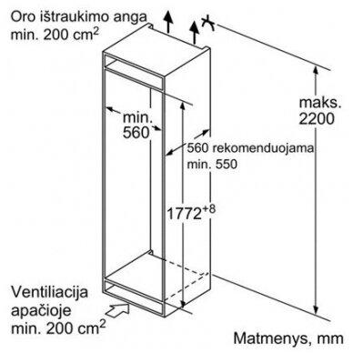 Šaldytuvas Siemens KI82LADE0 3