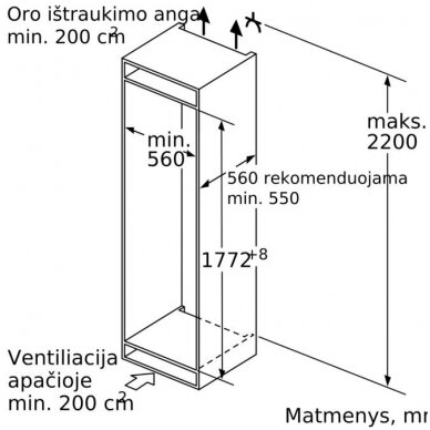 Šaldytuvas Siemens KI86NADF0 4