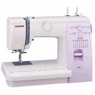 Siuvimo mašinos Janome 415