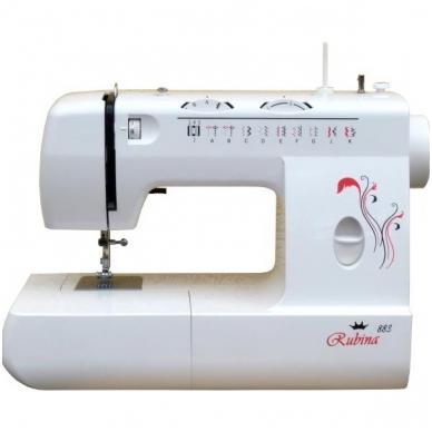 Siuvimo mašinos RUBINA 883