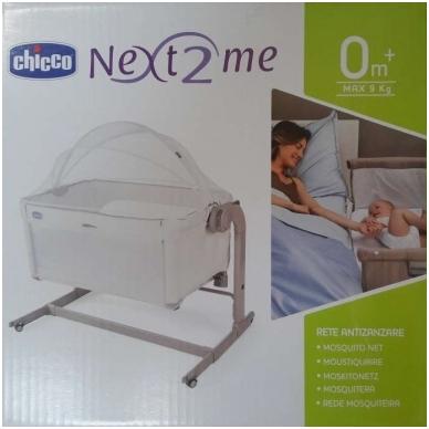 Tinklelis nuo uodų lovytei Chicco Next2Me 3