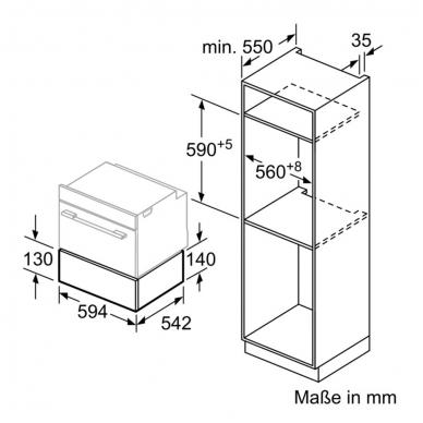 Vakuumavimo stalčius Bosch BVE810NC0 3